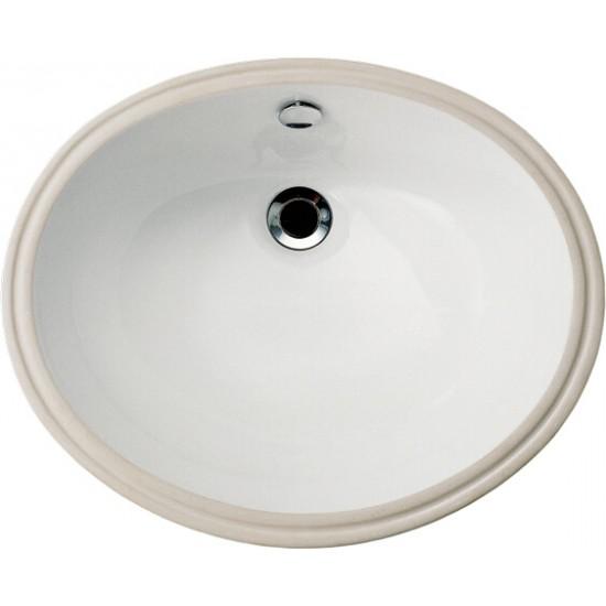 Chậu rửa mặt lavabo Caesar L5115 âm bàn.