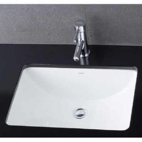 Chậu rửa mặt lavabo Caesar L5125 âm bàn.