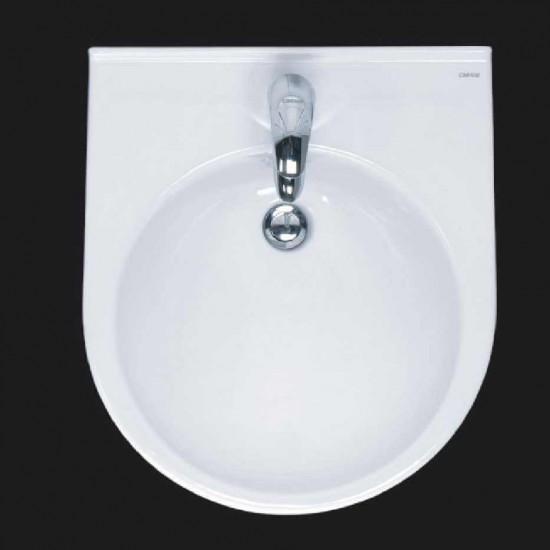 Chậu rửa mặt lavabo Caesar LF5302 âm bàn.