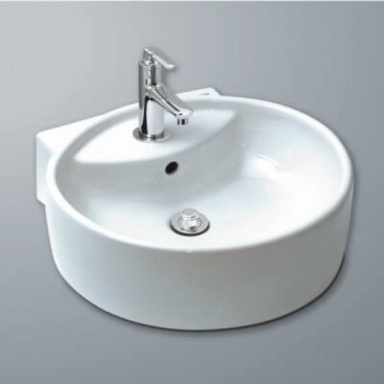 Chậu rửa mặt lavabo inax AL-292V đặt bàn.