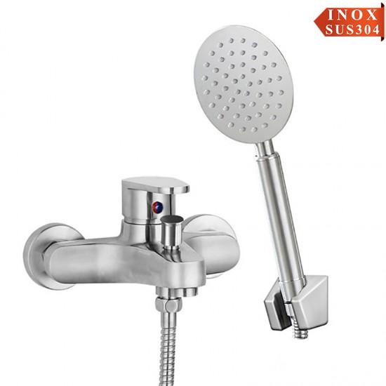 Vòi sen tắm inox Dakoshi I101 Nóng Lạnh